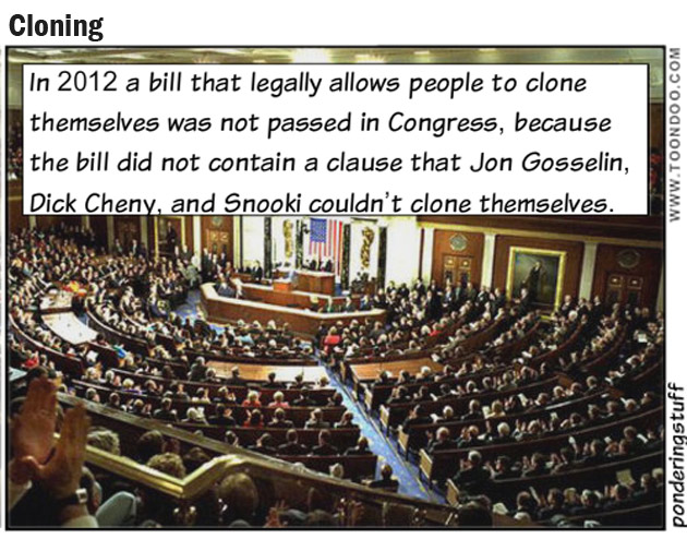 Bill on cloning in Congress